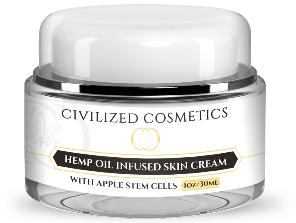 Civilized Cosmetics Hemp Oil Infused Skin Cream