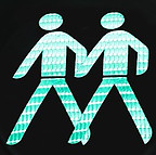 Go Green (cross walk symbol)